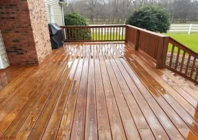 deck cleaning header