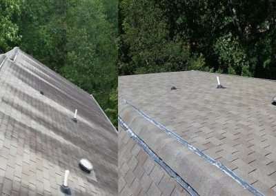 roof cleaning header